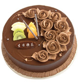 send Chocolate cake to china
