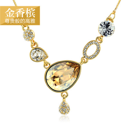 send crystal Necklace to hangzhou