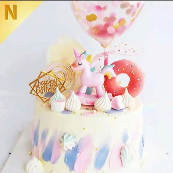 send unicorn cake to china