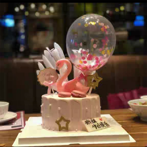 send swan cake to guangzhou