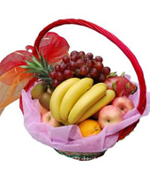 send Fruit basket 1 to china