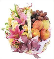 send Fruit basket 3 to china