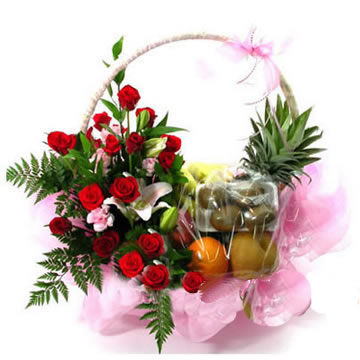send Fruit basket 7 to china