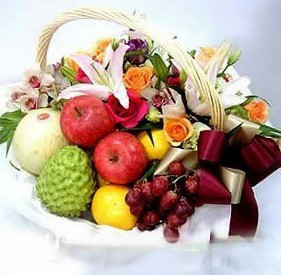 send Fruit basket 8 to china