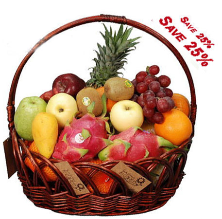 send fruit basket to china