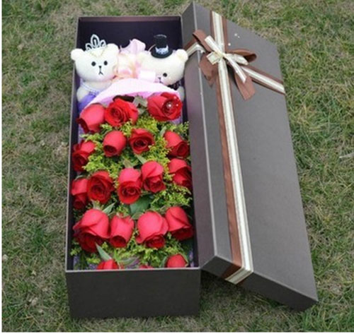send 19 red roses to china