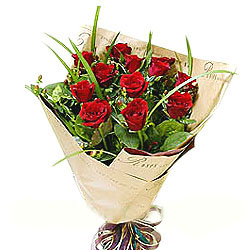 send 11 red roses to china