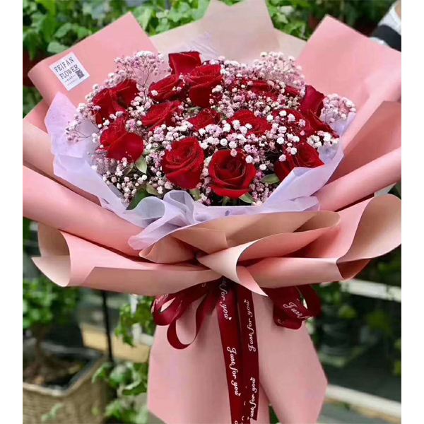 send 18 red roses to china